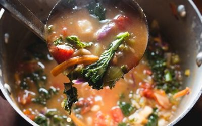 Posole with Kale